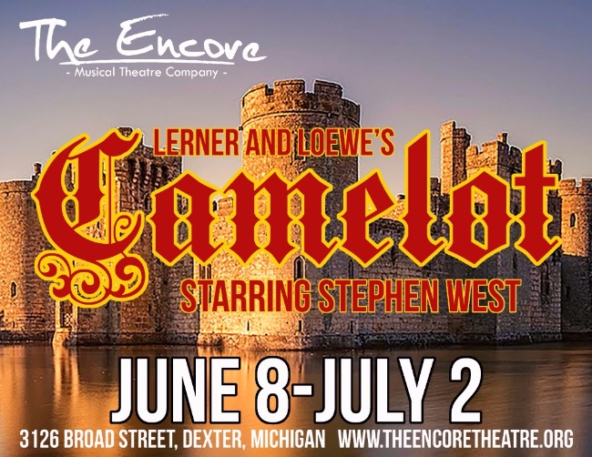 CAMELOT to Gallop Into The Encore Musical Theatre